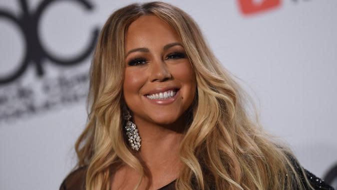 Mariah Carey. (VALERIE MACON / AFP/Asnida Riani)