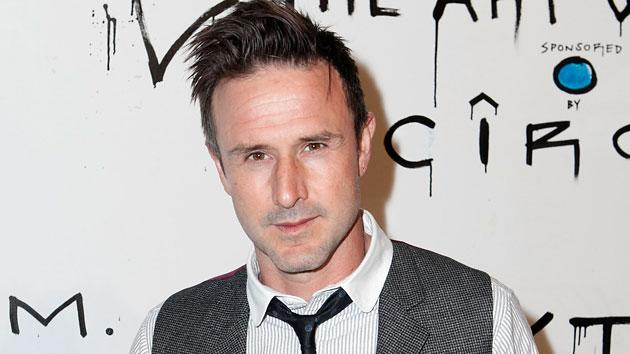 David Arquette hijacks Oscars press room