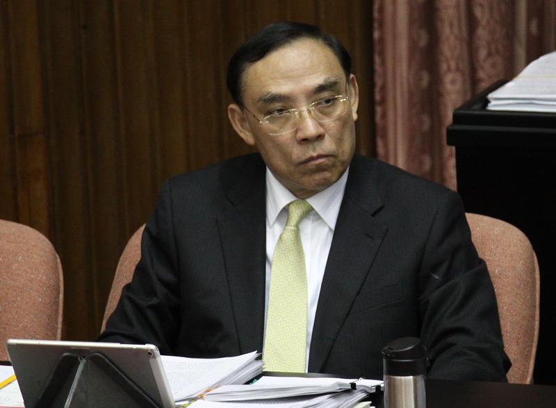 ▲法務部長蔡清祥。(圖/記者葉政勳攝 , 2020.02.21)