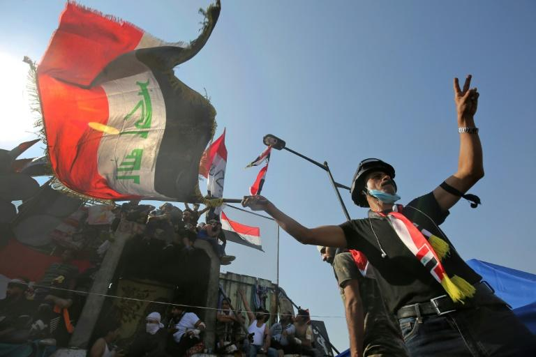 Iraqi protesters have kept up their demonstrations despite a mounting death toll that has seen more than 270 people killed since October 1