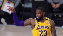 NBA/否認湖人是在打小球 詹皇:我們5人都有身高和臂展