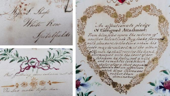 Kartu ucapan valentine tertua di dunia