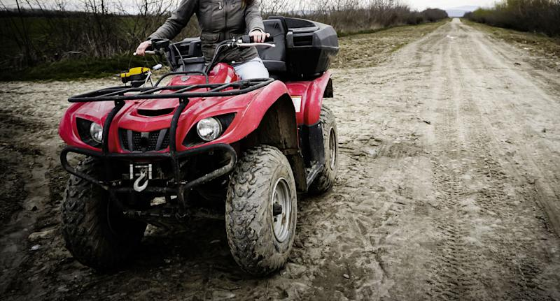 A file picture of an ATV vehicle. Source: Getty, file.