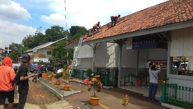 Proyek Jalur Ganda KA Bogor-Sukabumi Terhambat Lahan Istana Batu Tulis