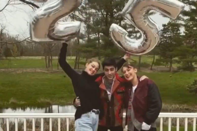 Gigi Hadid rayakan ulang tahun dengan Zayn Malik