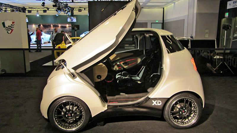 LA Auto Show 2011: Three-seat Croatian electric racer, anyone?