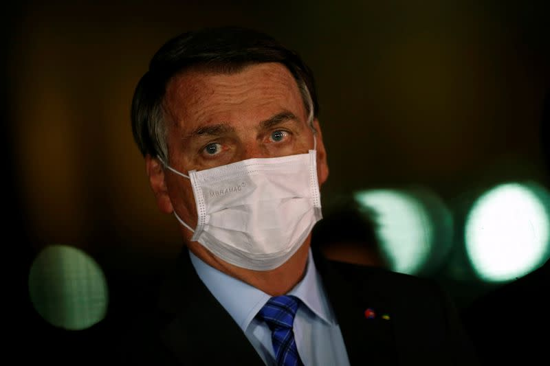 Brazil's Bolsonaro urges lower house to block public sector pay rise