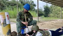 雲林縣高中職學生實彈射擊體驗 推展全民國防教育