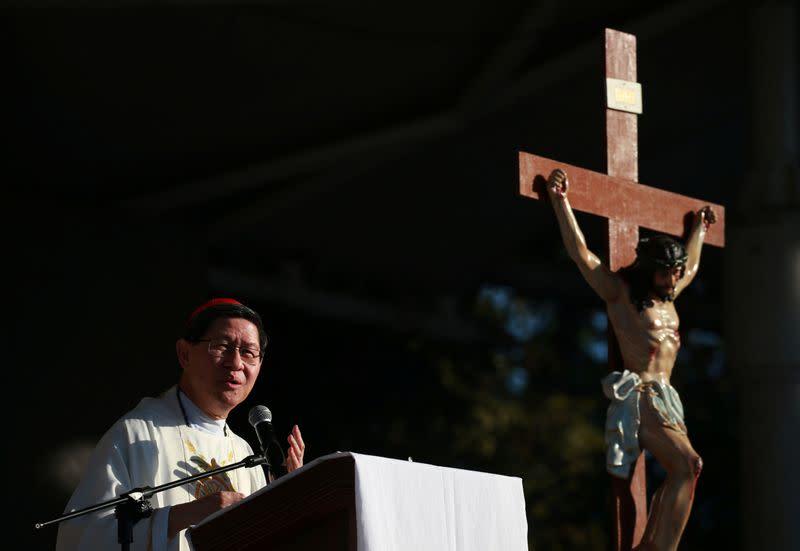 Vatican-based Filipino cardinal tests positive for coronavirus