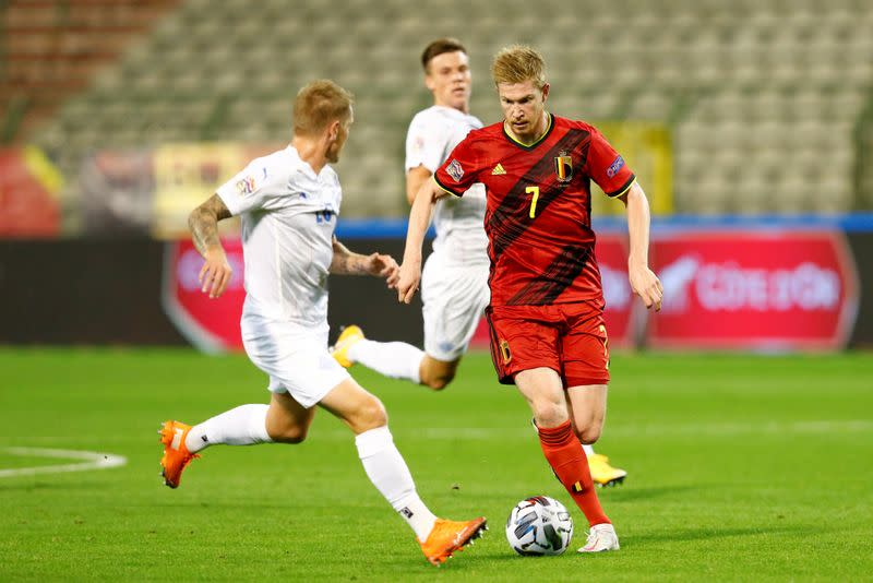 Belgium's De Bruyne hits out at crowded calendar