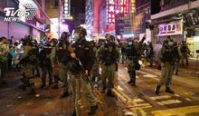 九龍大遊行爆衝突! 港警開胡椒槍阻示威者
