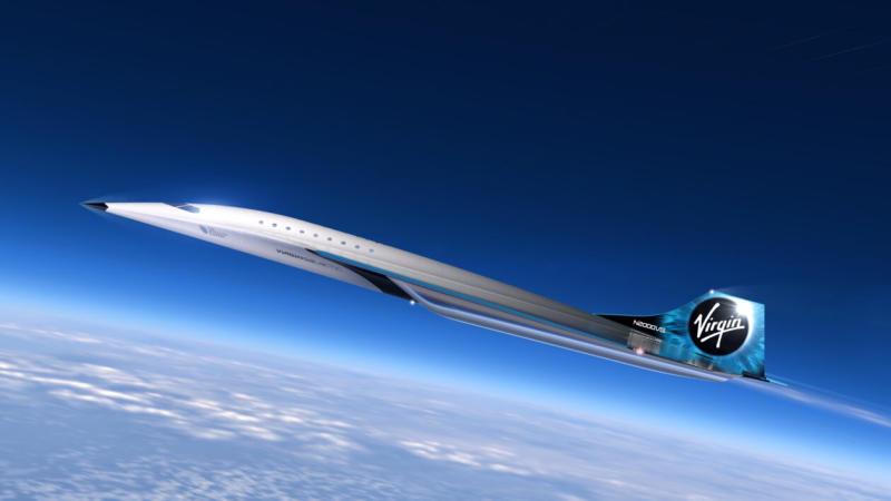 Virgin Galactic Mach 3 aircraft