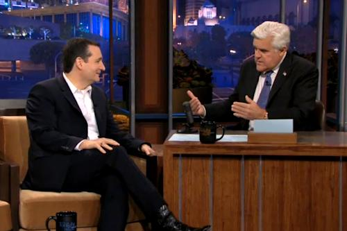 Sen. Ted Cruz Bashes Obamacare, Defends His Dad on 'Tonight Show' (Video)