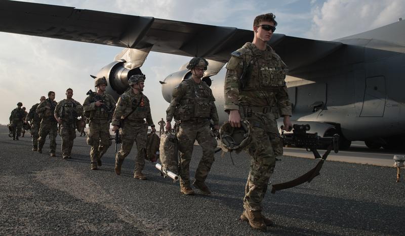 美軍公布新建軍計畫,將大砍1300名官兵。(示意圖/翻攝自U.S. Army Central臉書)