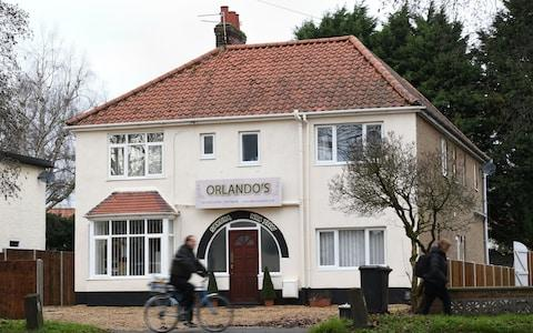 The residential property on Earlham Road in Norwich, which is being investigated by Norwich City Council as neighbours believe Orlando Williams is running a sushi restaurant from inside - Credit: Joe Giddens / PA