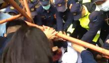 南鐵拒遷戶聲援者北上抗議爆衝突 交部次長出面給承諾