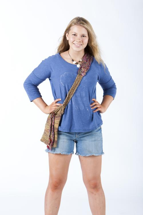 "This 2012 photo released by the Hallmark Channel shows Bindi Irwin star of the film ""Return to Nim's Island,"" the sequel to the 2008 action-adventure movie ""Nim's Island,"" premiering March 15, 2013 on the Hallmark Channel. The Hallmark Channel is making Friday nights a home for family movies. Hallmark says the movie, starring Irwin, the 14-year-old daughter of the late Steve Irwin, the Australian crocodile hunter, will air as part of the new ""Walden Family Theater"" series, a Hallmark Channel collaboration with producer Walden Media, ARC Entertainment studio and sponsors Wal-Mart and Procter & Gamble. (AP Photo/Hallmark Channel)"