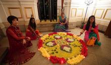 印度排燈節晚會在台北賓館舉行(2) (圖)