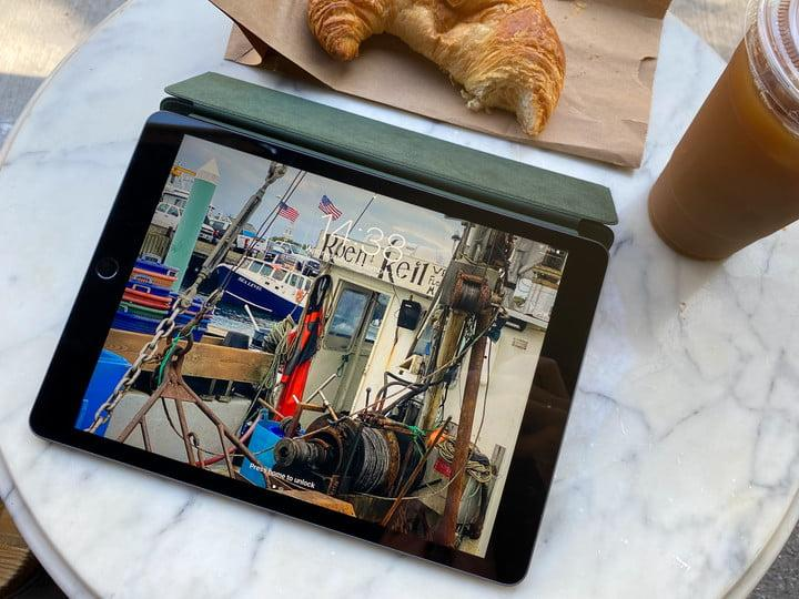iPad 8th generation outside