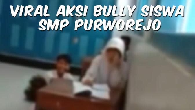 VIDEO TOP 3: Viral Siswi SMP di Purworejo Dibully