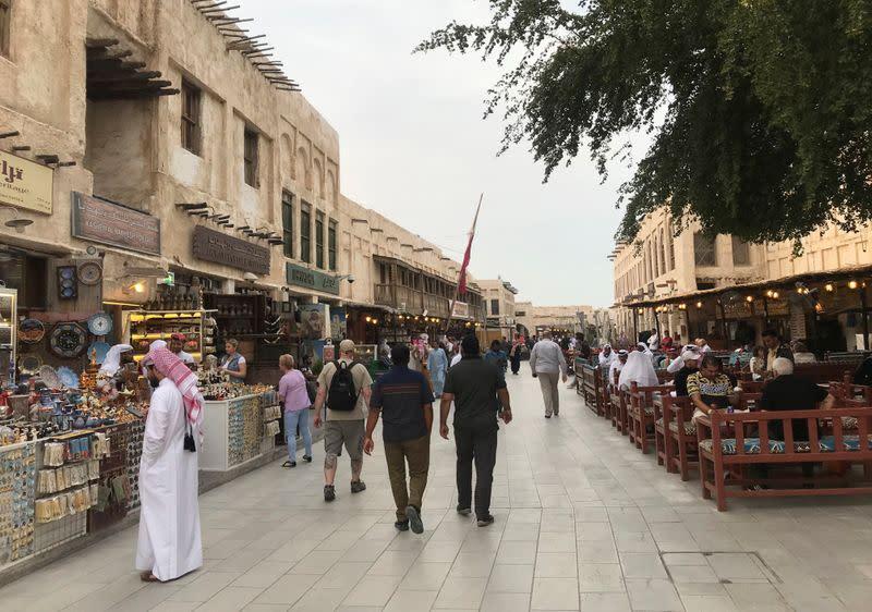Qatar makes wearing masks outside mandatory with violators fined up to $50,000