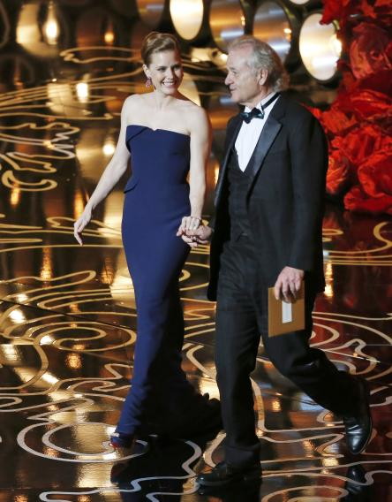 Murray and Adams present at the 86th Academy Awards in Hollywood