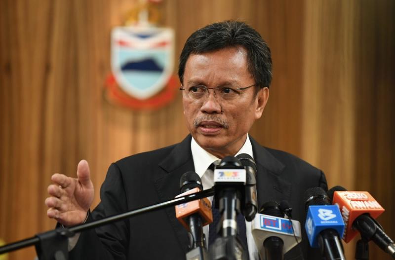 Shafie said that there was no rush to make a Sabahan prime minister. — Bernama pic