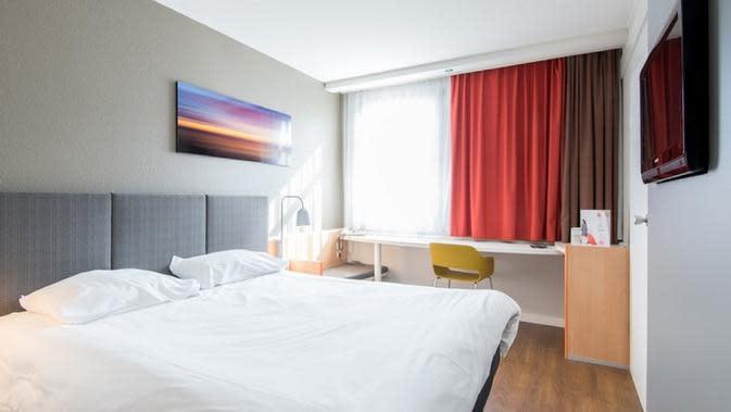 Ilustrasi kasur hotel (Dok.Unsplash)