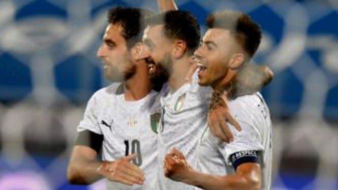 Italia Vs Belanda di UEFA Nations League Berakhir Tanpa Pemenang