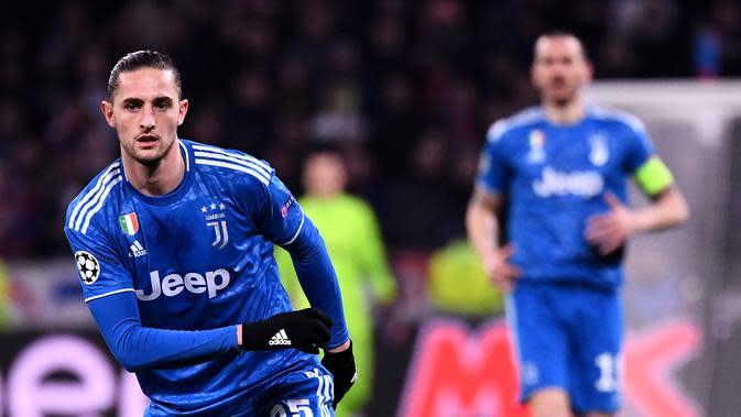 7. Adrien Rabiot: 7 juta euro per tahun. (AFP/Franck Fife)