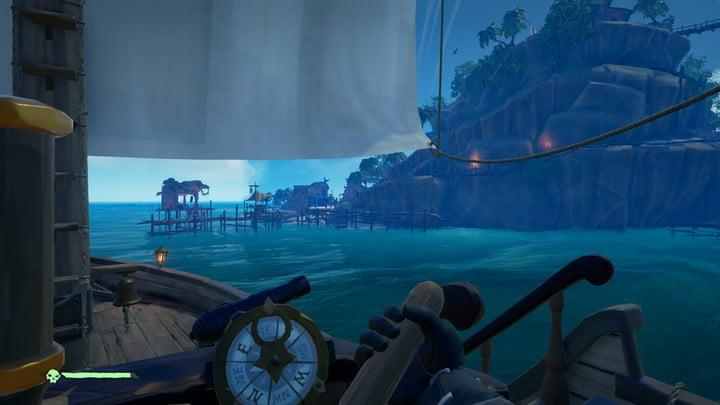 sea of thieves single player guide drive by drop off