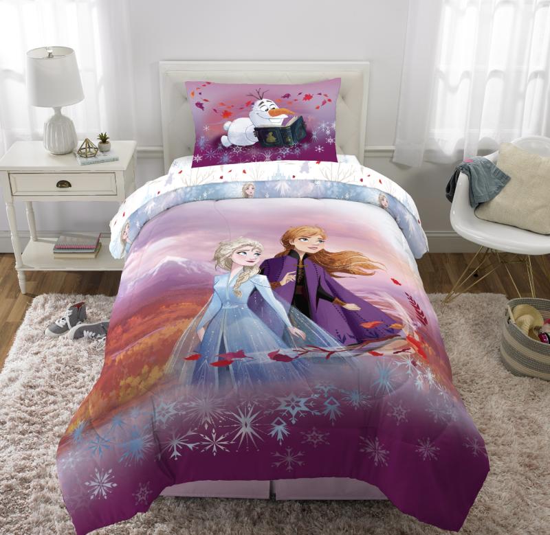 Disney's Frozen II Kids Twin/Full Reversible Comforter and Sham Set. (Photo: Walmart)