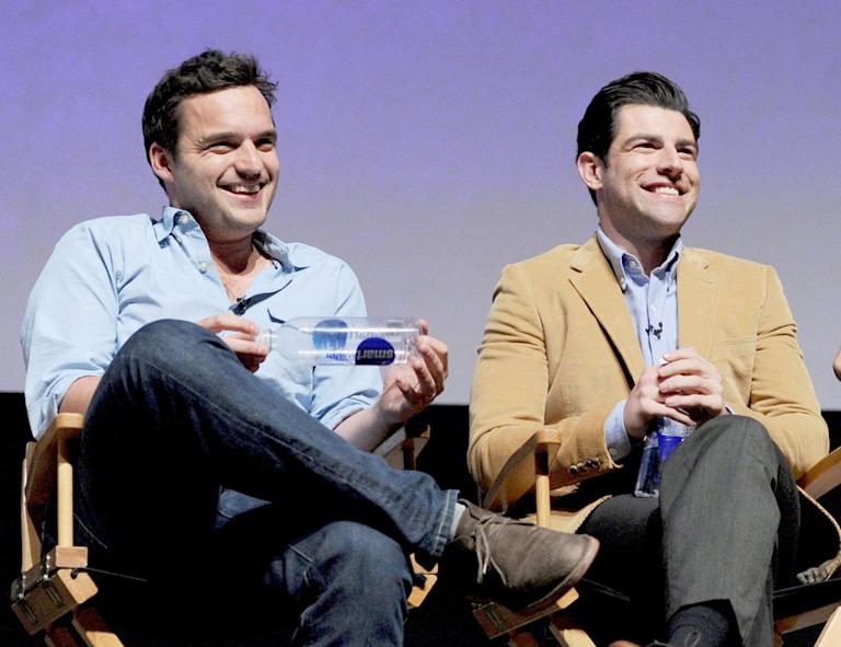 """New Girl"" screening and Q&A at the Academy of Television Arts & Sciences - Jake Johnson, Max Greenfield"