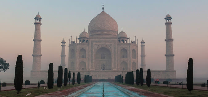 Photo of the week: the Taj Mahal in a new light