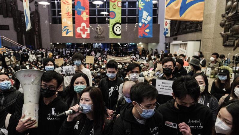【武漢肺炎】醫管局員工陣線發起一連五天罷工,要求政府全面封關,你是否支持?