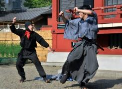 Brankas penuh uang tunai raib dari museum ninja Jepang
