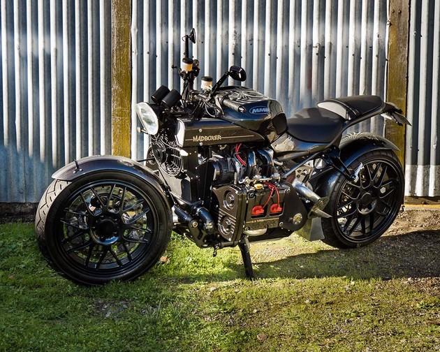 昴魂!「Kickboxer」SUBARU WRX水平對臥引擎打造二輪概念車