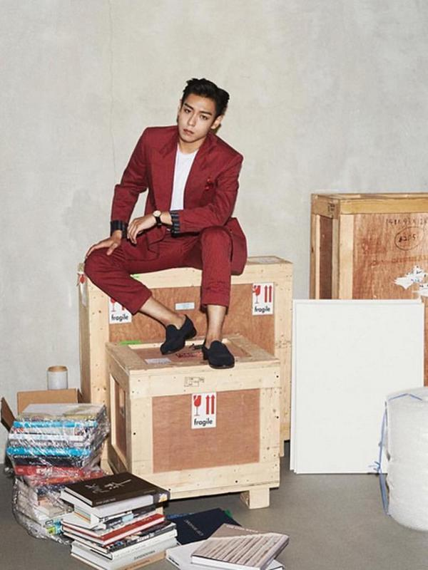 TOP BigBang. (Instagram/choi_seung_hyun_tttop)
