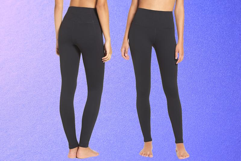 Zella Live In High Waist Leggings. (Photo: Nordstrom)