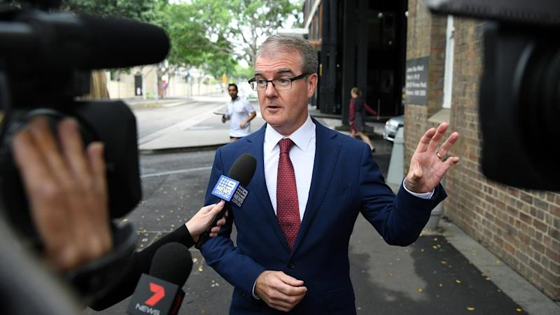 'They are inheriting from us a world that is ... precarious,' NSW Labor leader Michael Daley says