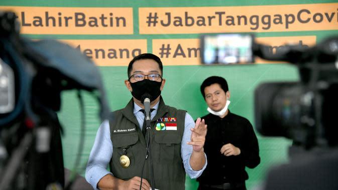Ridwan Kamil: PSBB Berdampak Penurunan Pasien Covid-19 di Jabar