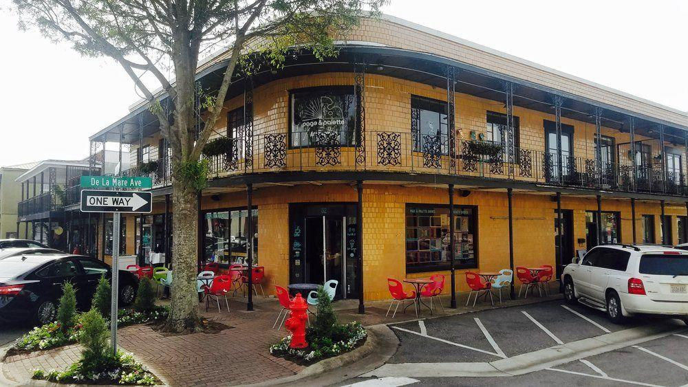 "<p>A third-generation, family-owned bookstore in Fairhope, <a href=""https://www.pageandpalette.com/bookstore"" target=""_blank"">Page and Palette</a> has been around for over 40 years. They host author events for local authors and bigger names — and as a bonus, they have an on-site coffee shop and a bar that features literary-themed cocktails. </p><p><strong>More:</strong> <a href=""https://www.bestproducts.com/lifestyle/g30631432/best-books-for-2020/"" target=""_blank"">The Absolute Best Books to Read in 2020</a></p>"
