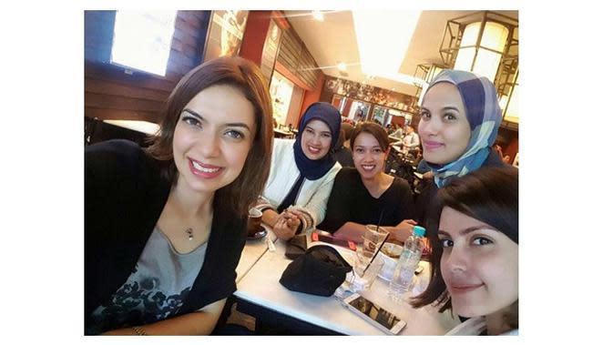 7 Potret Najwa Shihab dan Saudara Perempuannya, Cantik dan Sukses (Sumber: Instagram/@nasywashihab)