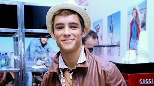 Brenton Thwaites Board Summit's 'Gods of Egypt'