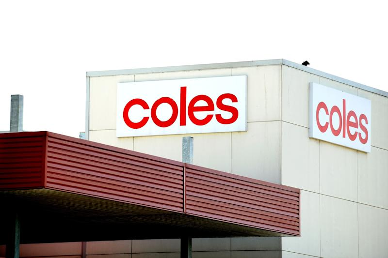Most NSW, ACT and Victoria Coles stores will open from 1pm. Source: AAP (file pic)