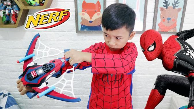 Yuk, Nonton Superduper Ziyan Episode Main Wahana di Mal Pakai Kostum Spider-Man