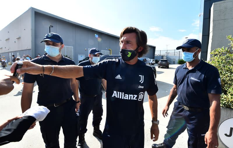 Juve's Pirlo gamble makes Serie A season the most open for years