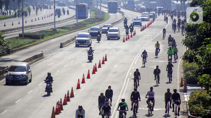 Pesepeda Gagalkan Aksi Penjambretan Handphone di Menteng