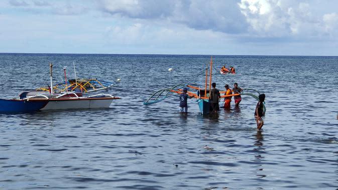 Penemuan Sandal dan Sepatu Jadi Jejak Nelayan Hilang di Perairan Sitaro