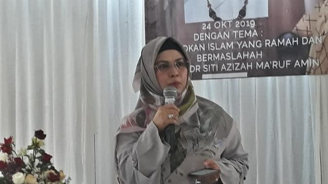 Siti Nur Azizah Putri Ma'ruf Amin Ungkap Alasan Deklarasi di Situ Gintung